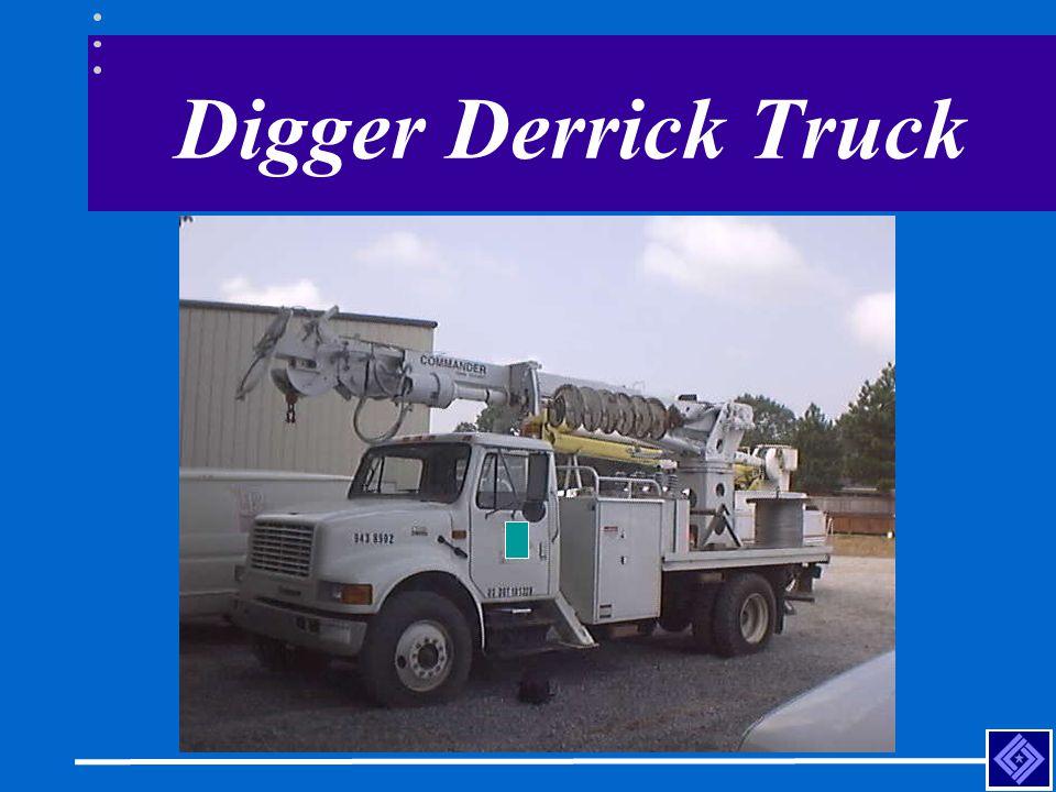 Digger Derrick Truck