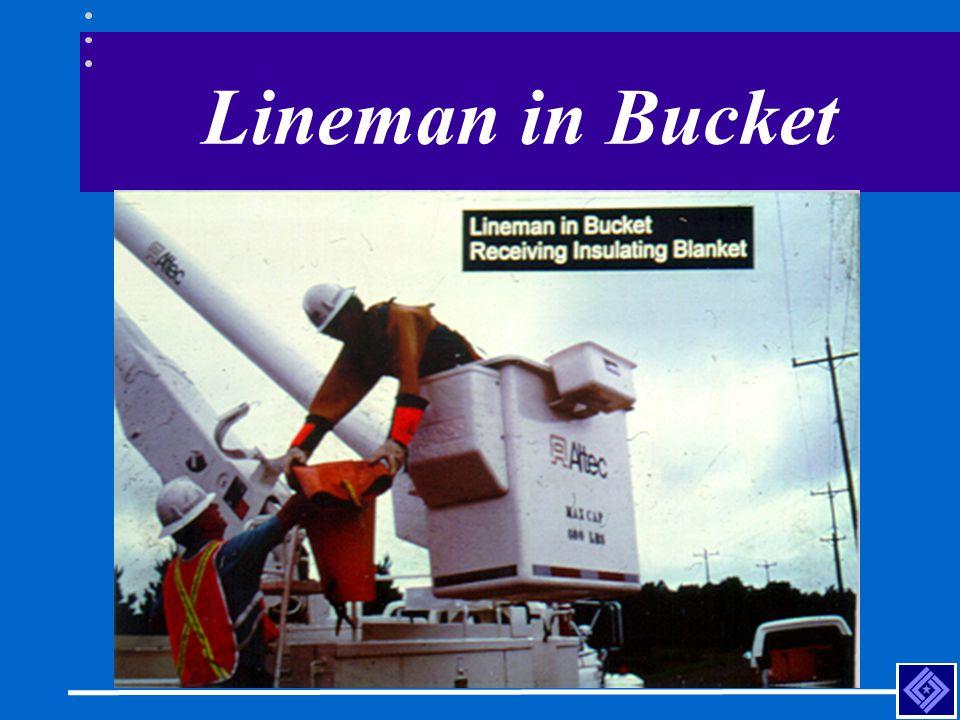 Lineman in Bucket
