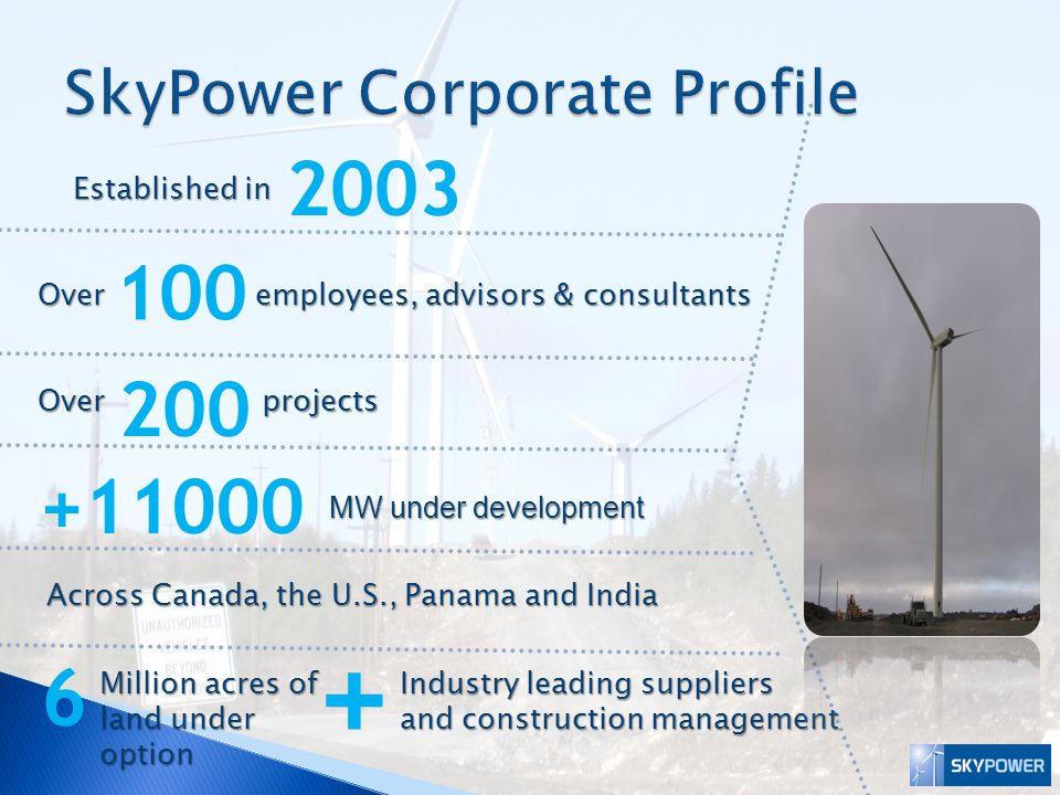 SkyPower Corporate Profile