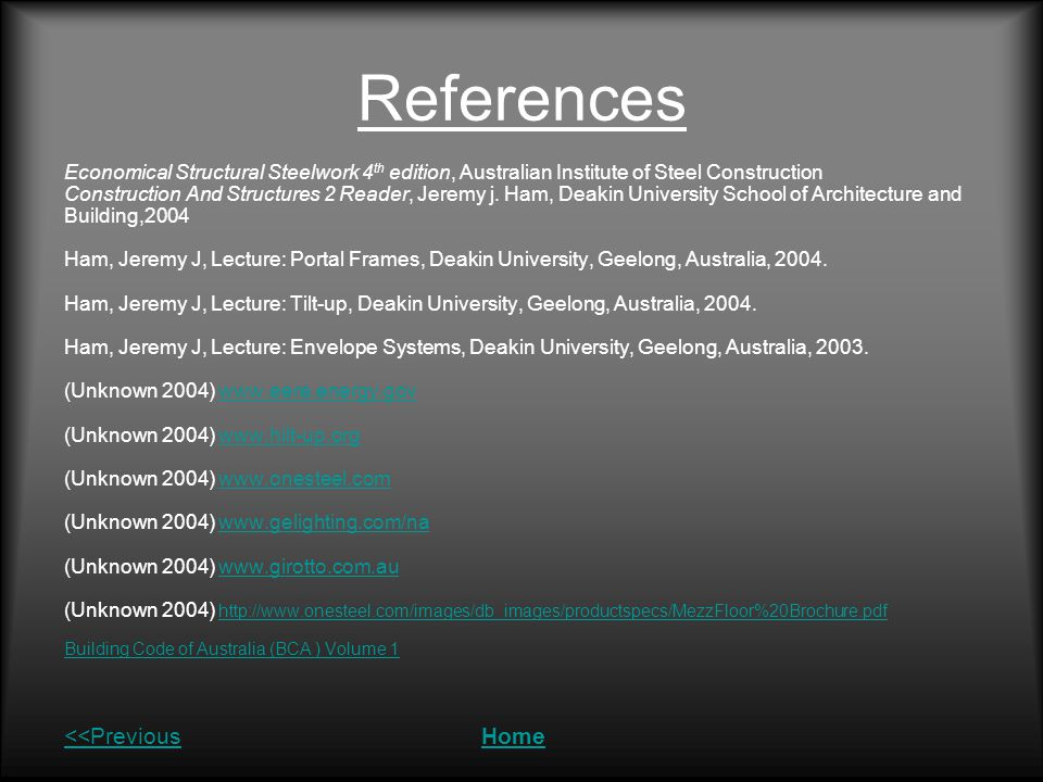 References <<Previous Home