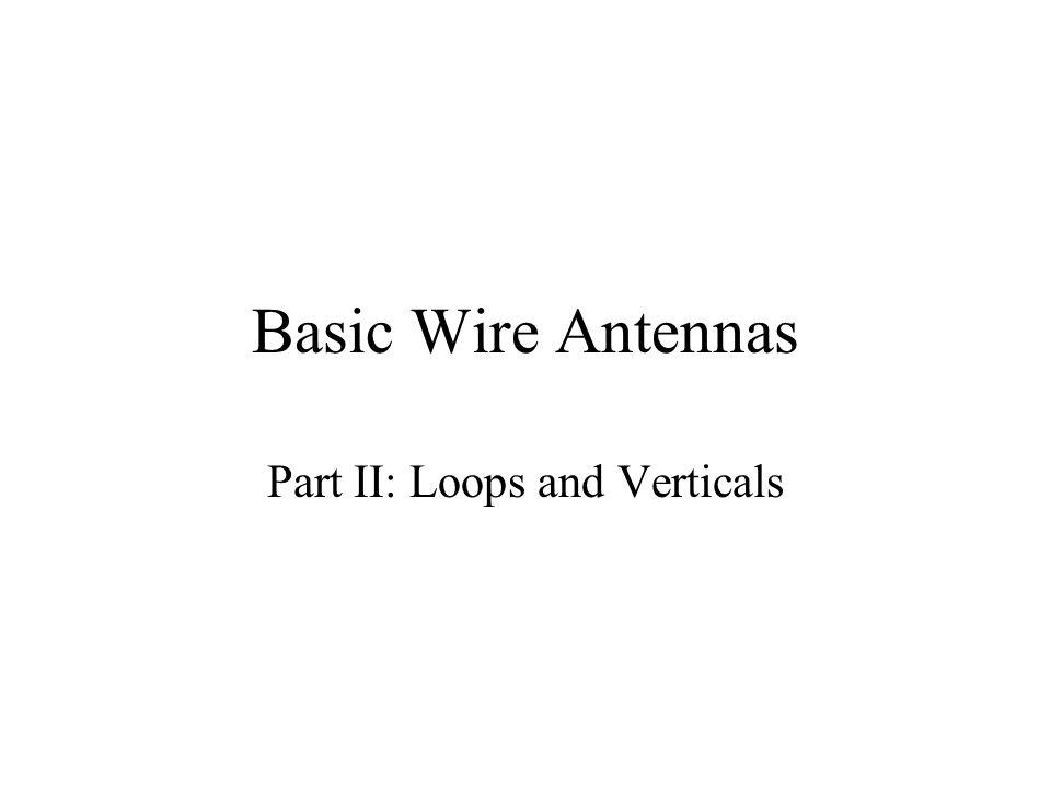Part II: Loops and Verticals