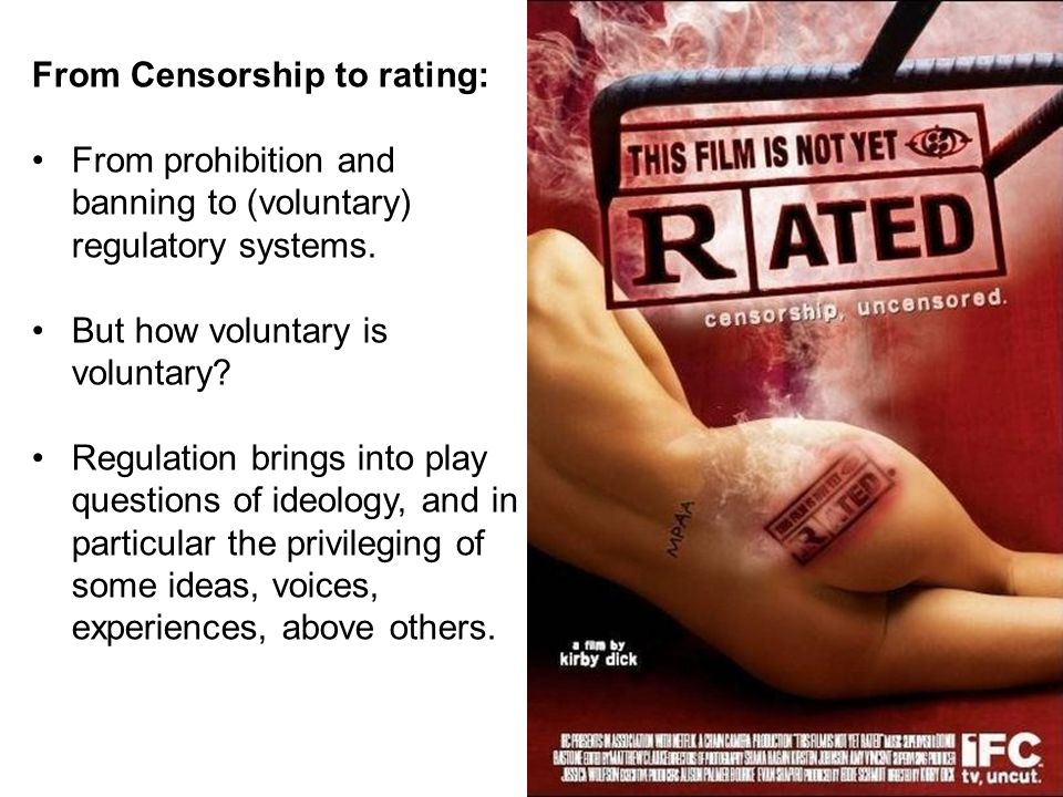 From Censorship to rating: