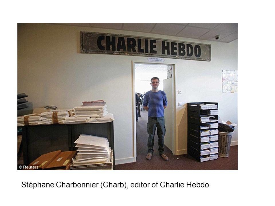 Stéphane Charbonnier (Charb), editor of Charlie Hebdo