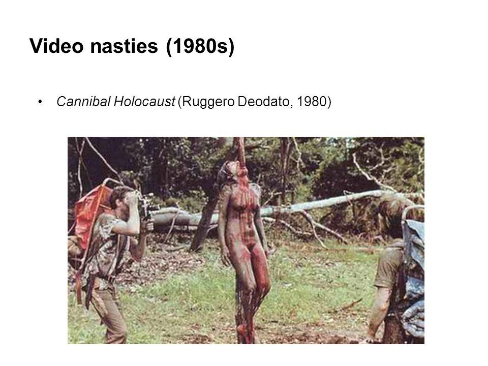 Video nasties (1980s) Cannibal Holocaust (Ruggero Deodato, 1980)