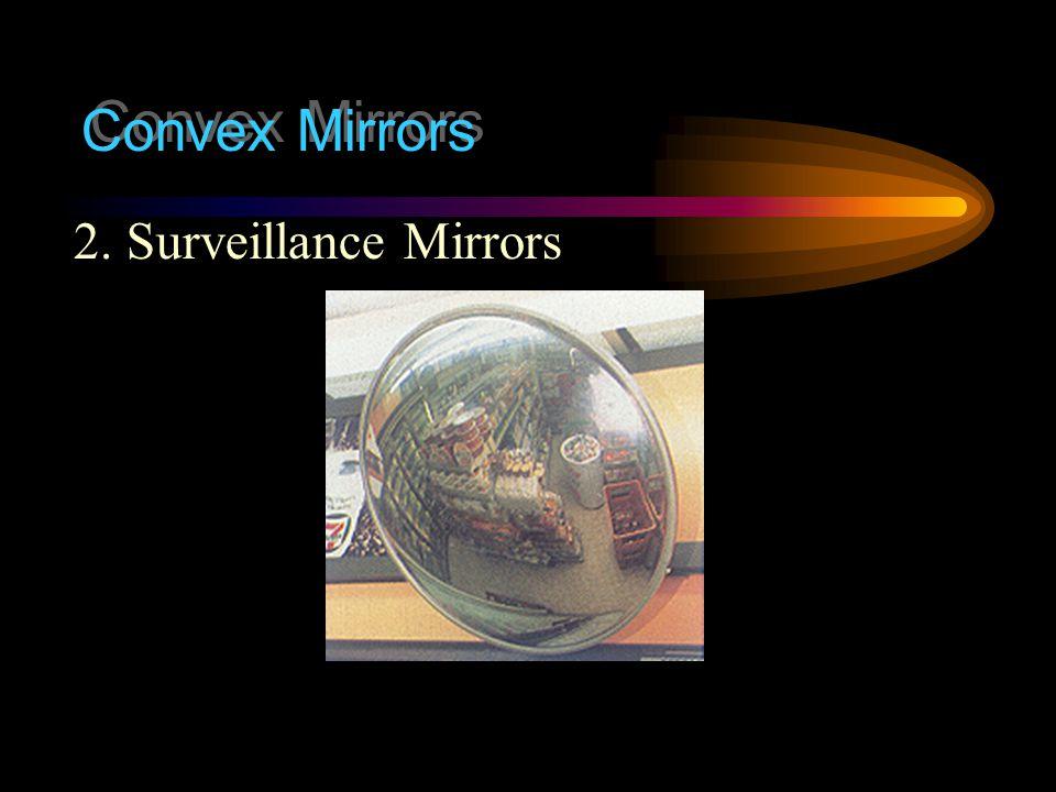 Convex Mirrors 2. Surveillance Mirrors
