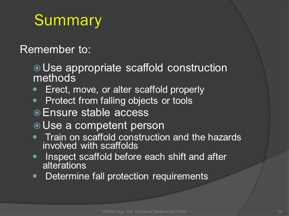 OSHAX.org - The Unofficial Guide to the OSHA
