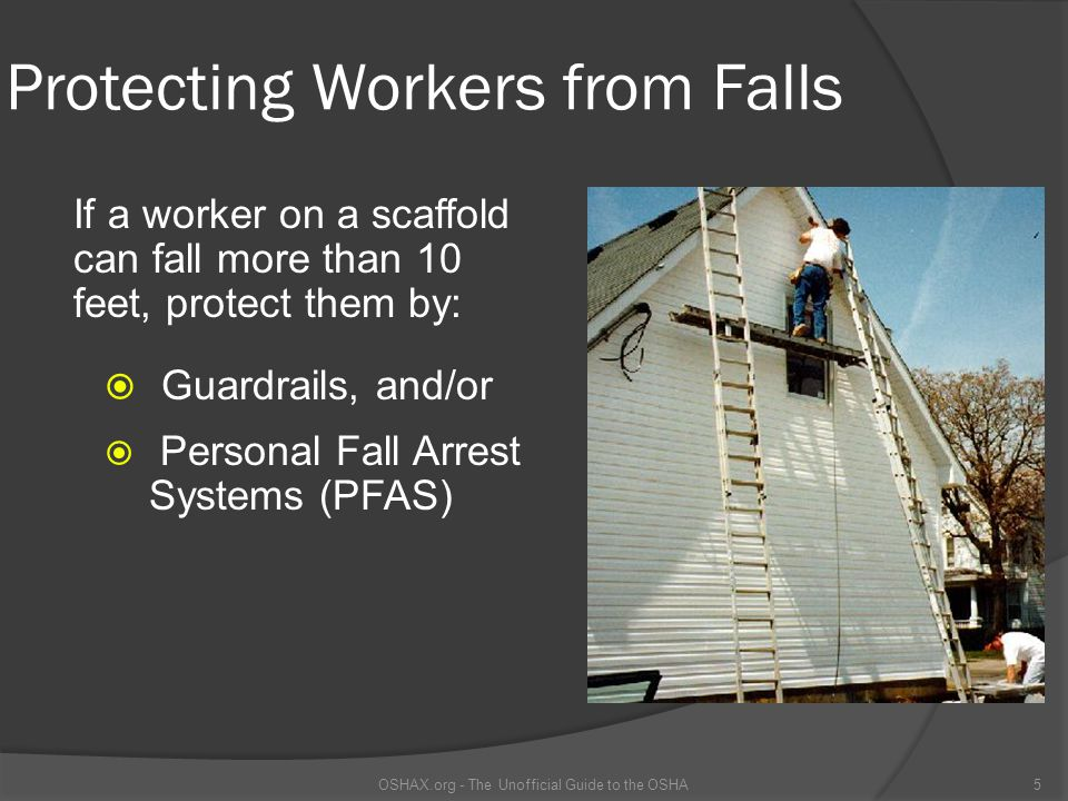Protecting Workers from Falls