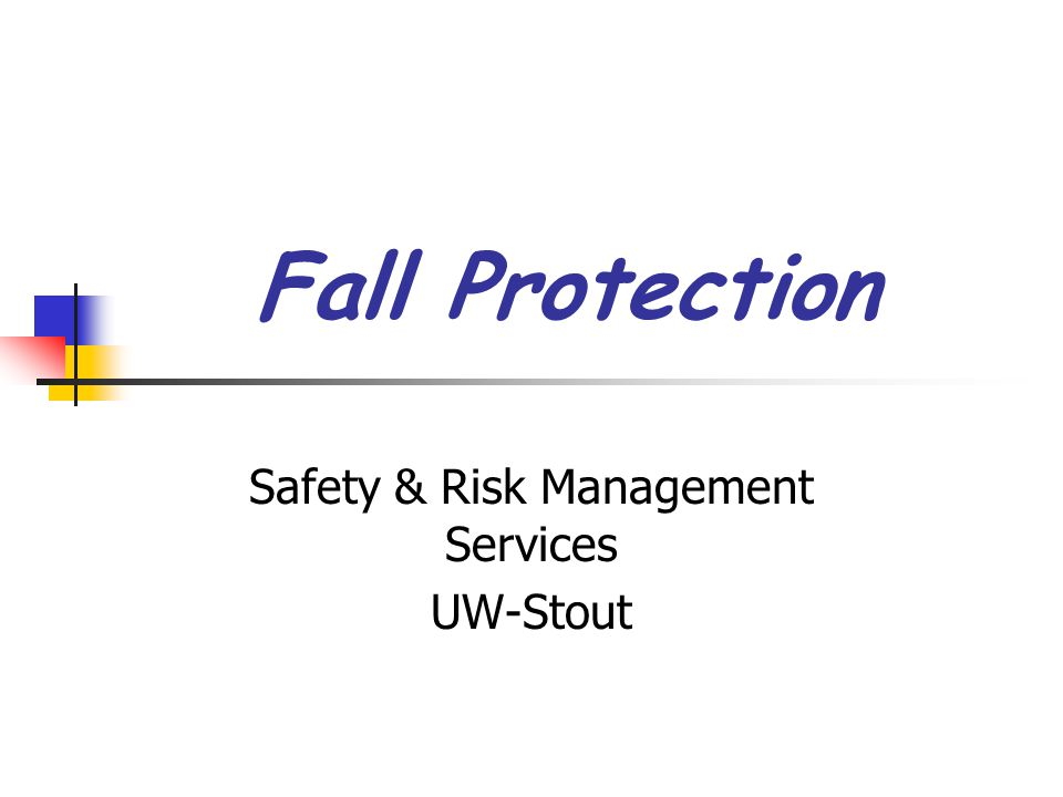 Safety & Risk Management Services UW-Stout