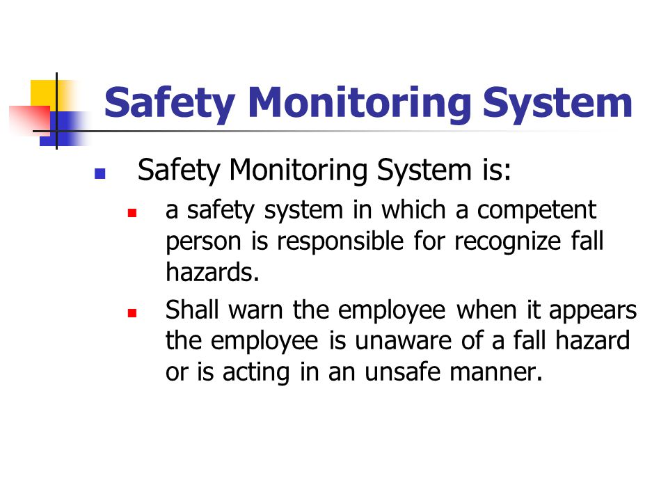 Safety Monitoring System