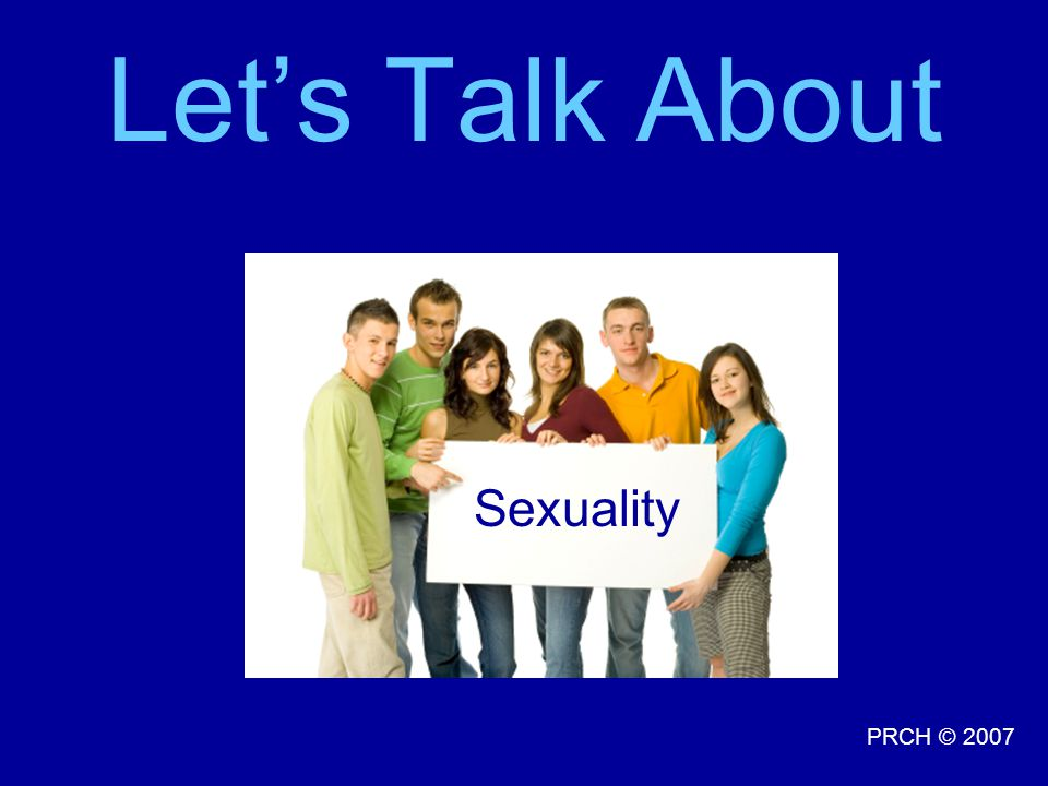Let's Talk About Sexuality