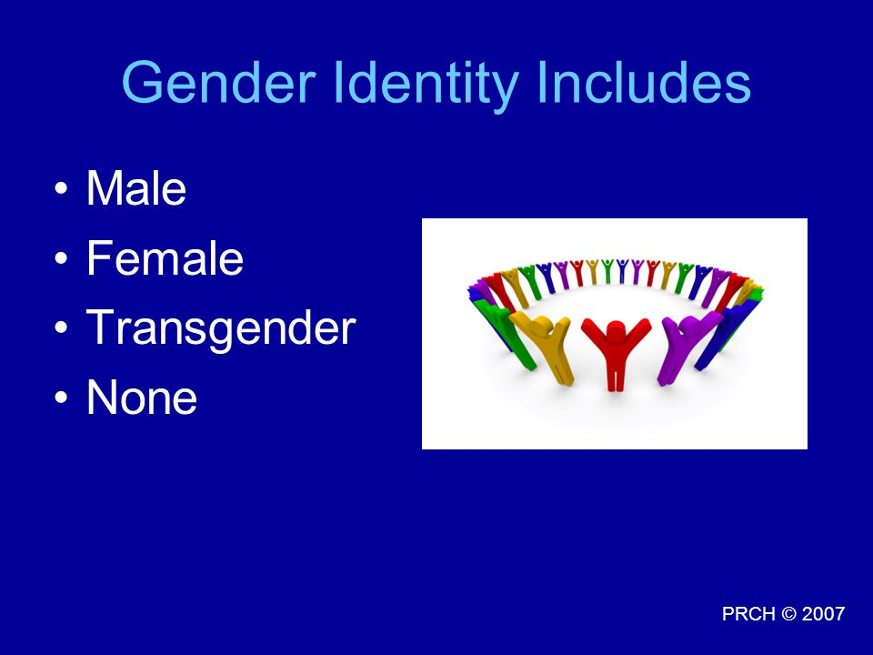 Gender Identity Includes