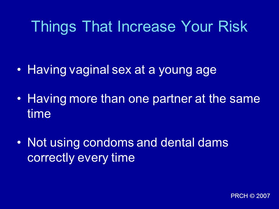 Things That Increase Your Risk