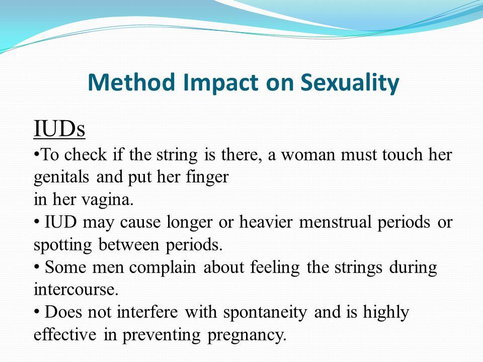 Method Impact on Sexuality