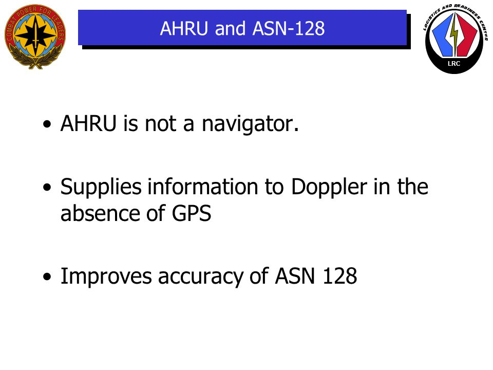 Supplies information to Doppler in the absence of GPS.