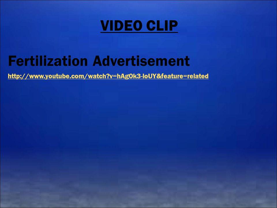 Fertilization Advertisement