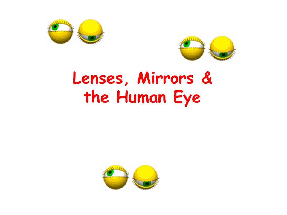 Lenses, Mirrors & the Human Eye