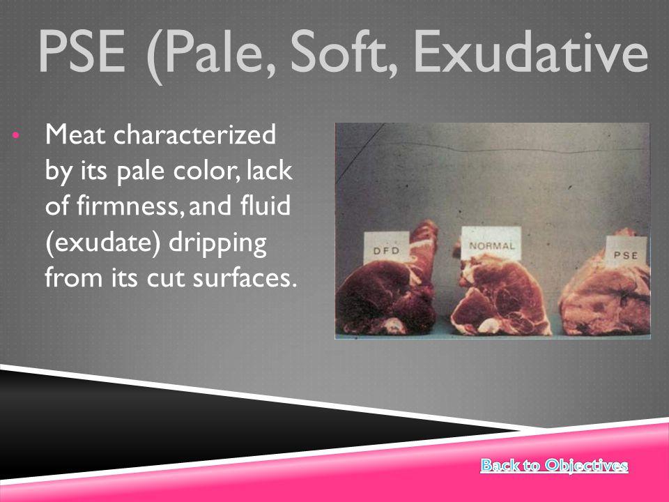 PSE (Pale, Soft, Exudative