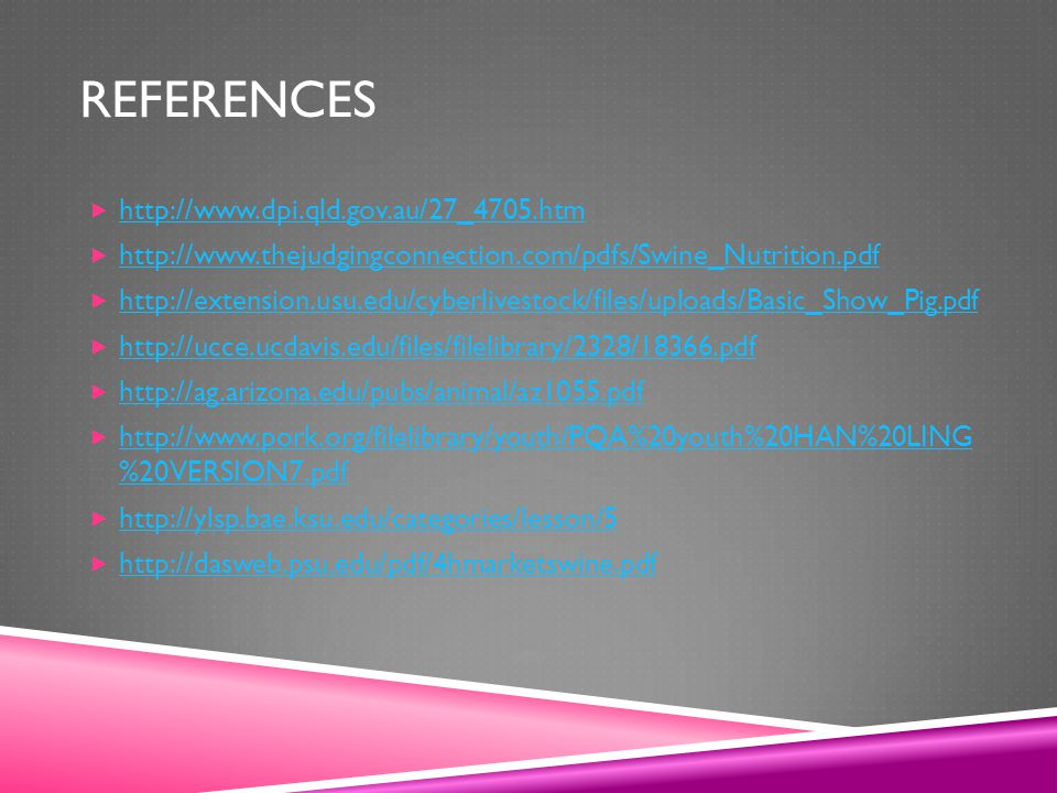 References http://www.dpi.qld.gov.au/27_4705.htm
