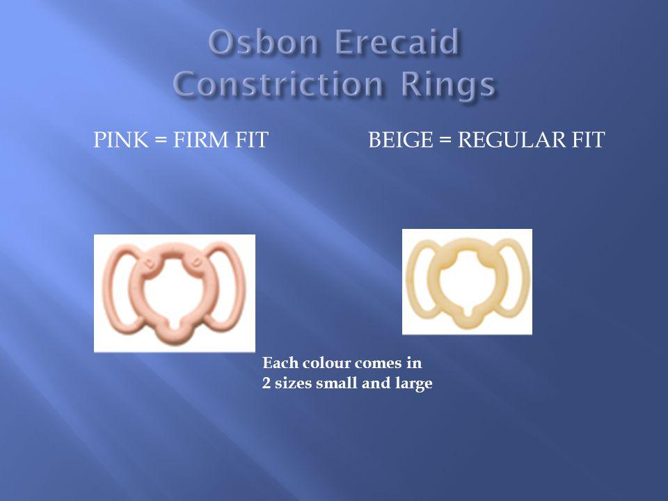 Osbon Erecaid Constriction Rings