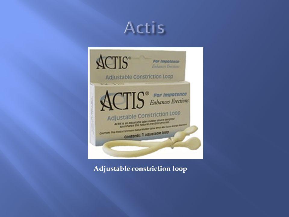 Actis Adjustable constriction loop