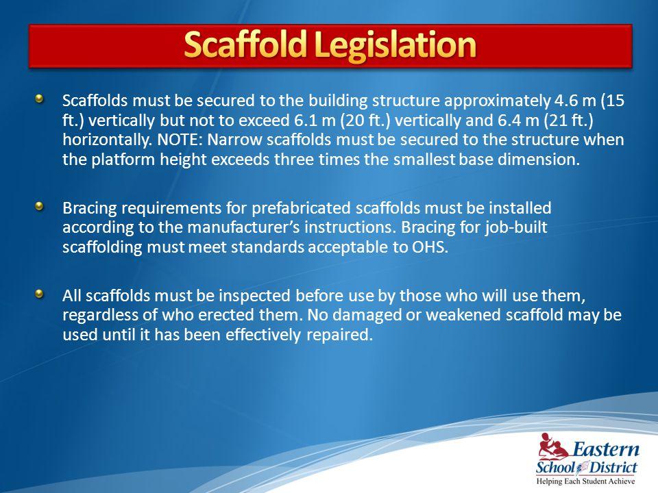 Scaffold Legislation