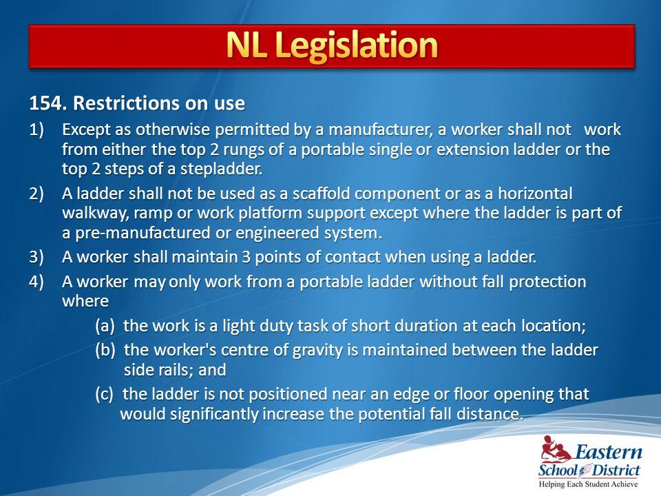 NL Legislation 154. Restrictions on use