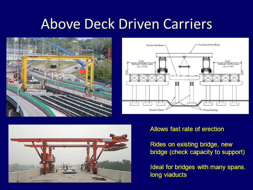 Above Deck Driven Carriers