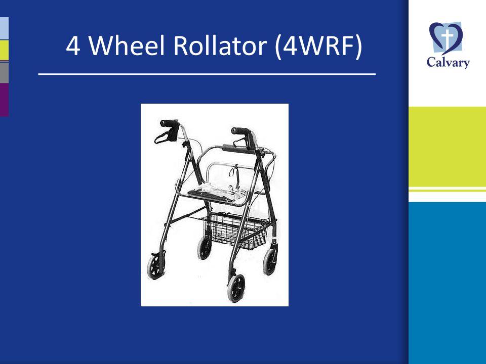 4 Wheel Rollator (4WRF)