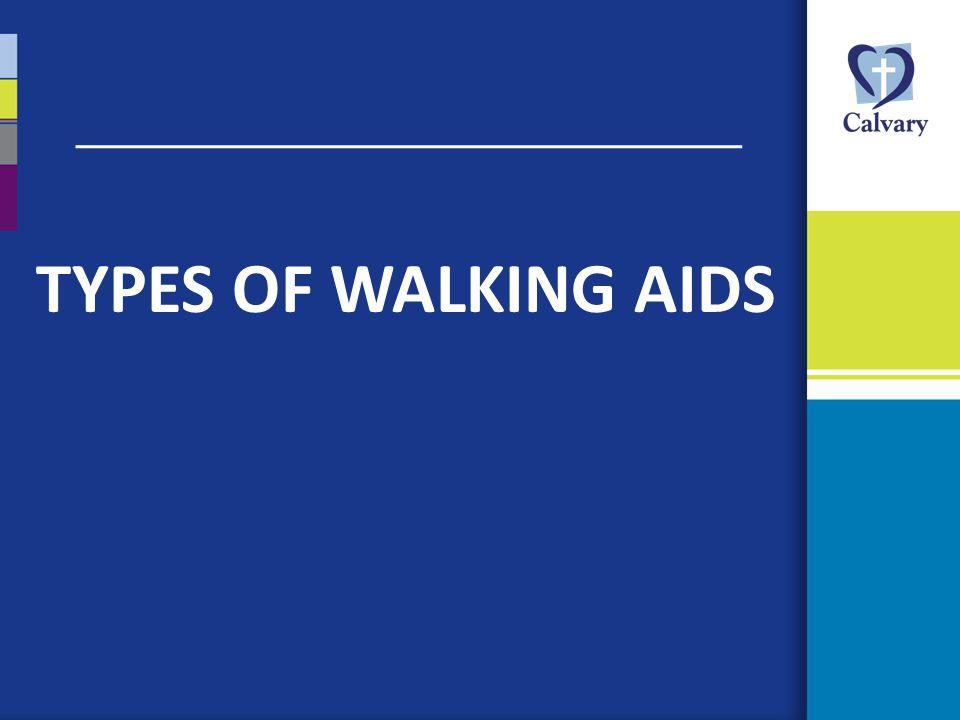 Types of Walking Aids