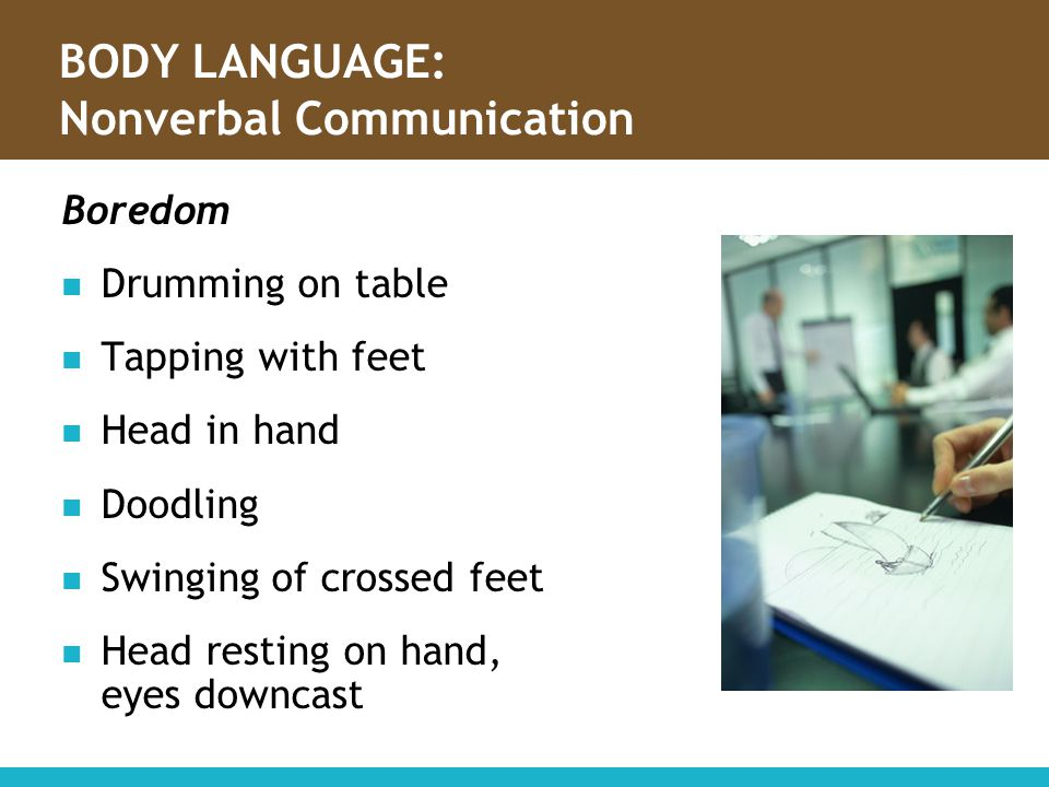 BODY LANGUAGE: Nonverbal Communication