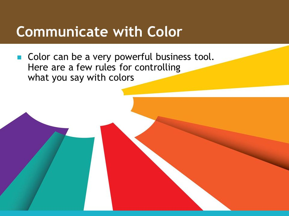 Communicate with Color