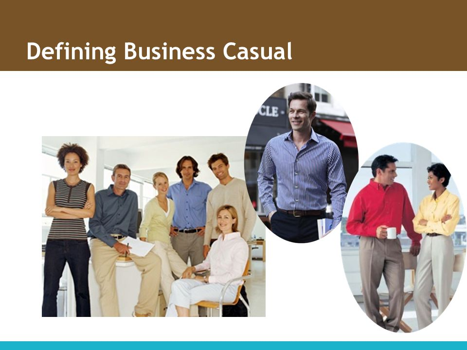 Defining Business Casual