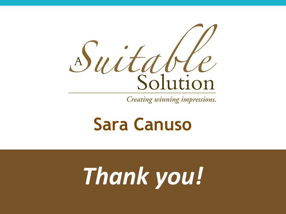 Sara Canuso Thank you!