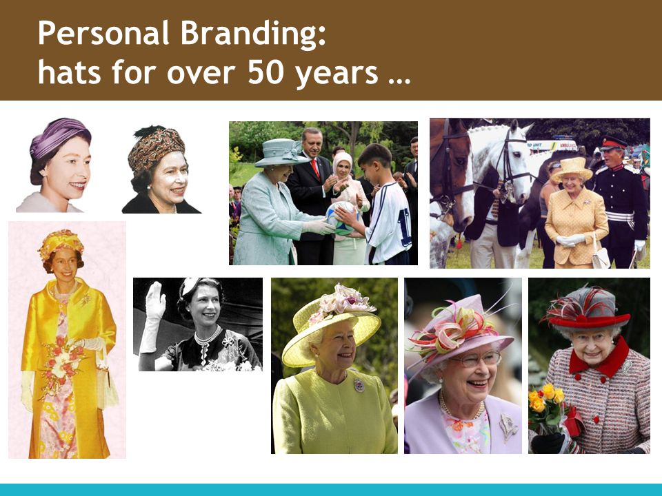 Personal Branding: hats for over 50 years …