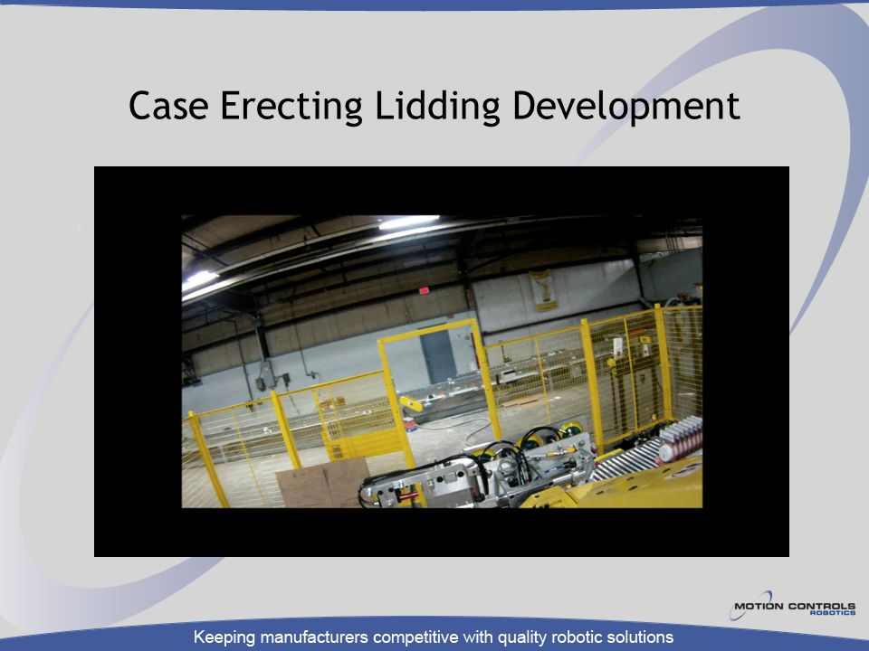 Case Erecting Lidding Development