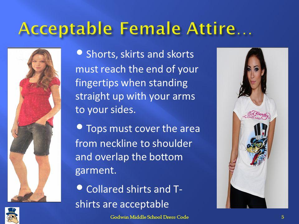 Acceptable Female Attire…