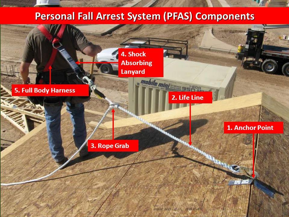 Personal Fall Arrest System (PFAS) Components