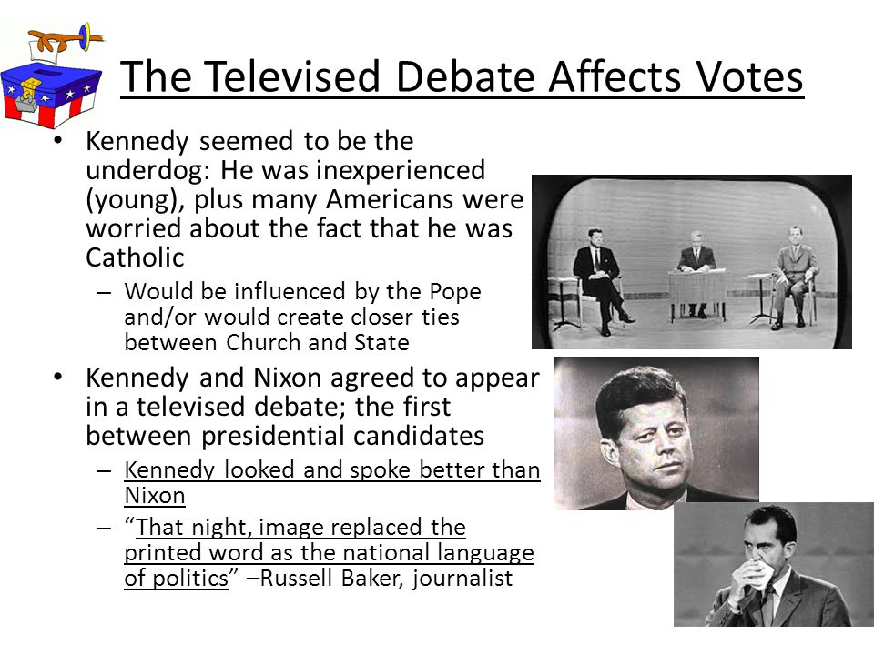 The Televised Debate Affects Votes