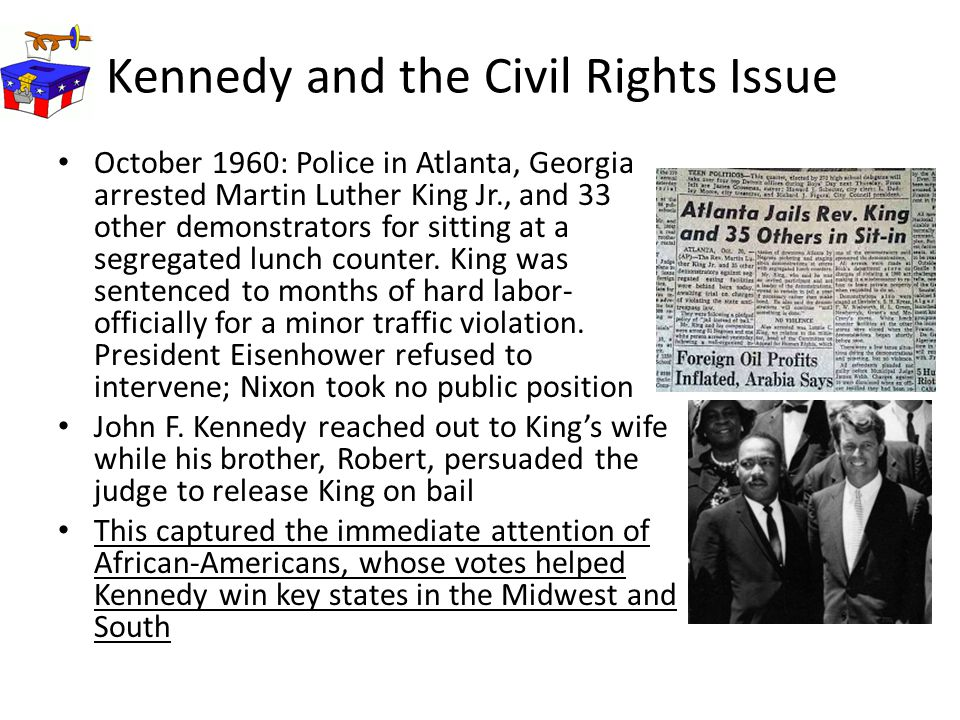 Kennedy and the Civil Rights Issue