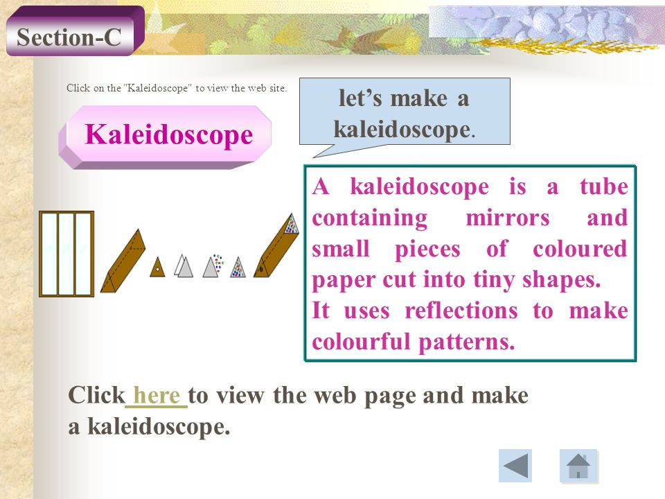 let's make a kaleidoscope.
