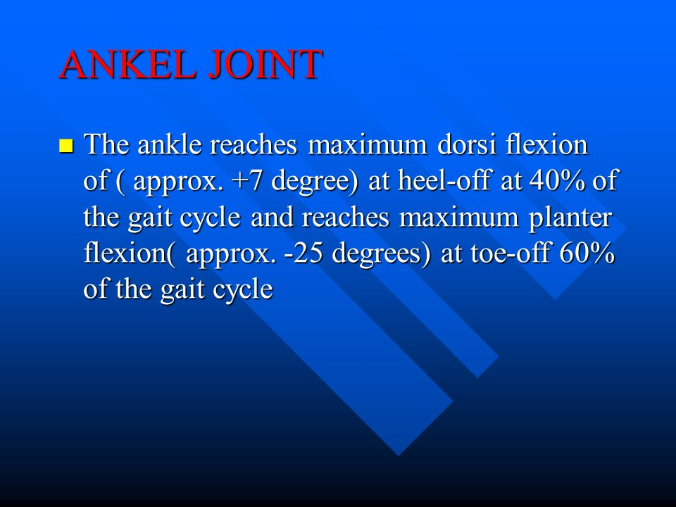 ANKEL JOINT