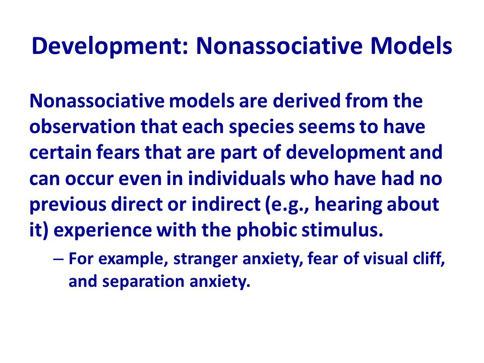 Development: Nonassociative Models