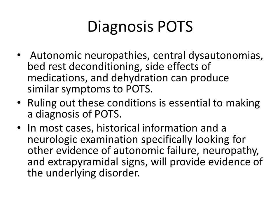 Diagnosis POTS