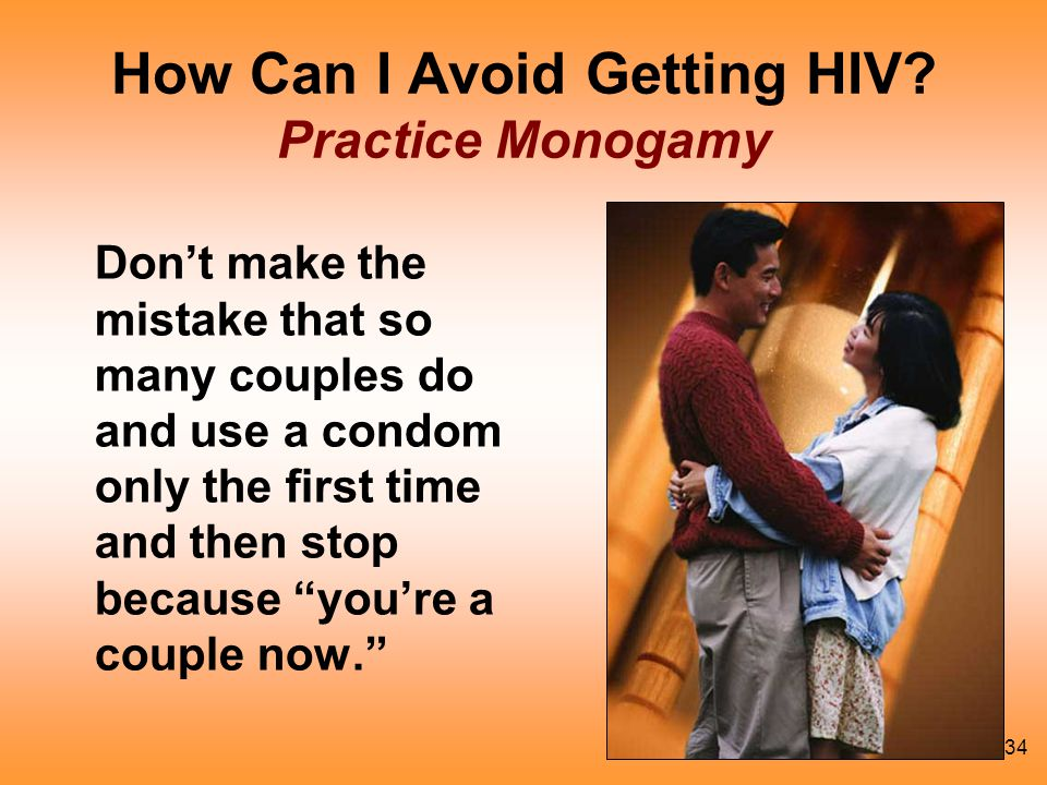 How Can I Avoid Getting HIV Practice Monogamy