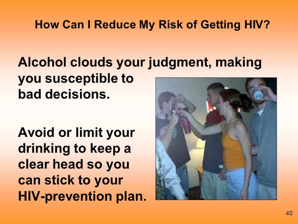How Can I Reduce My Risk of Getting HIV