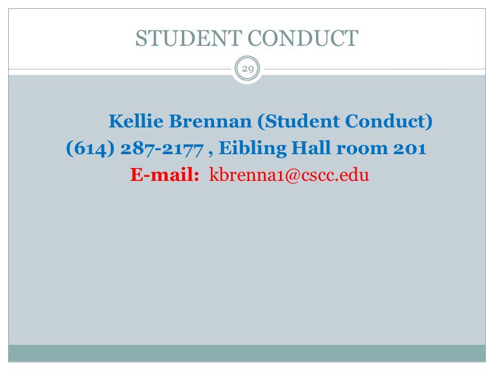 Kellie Brennan (Student Conduct)