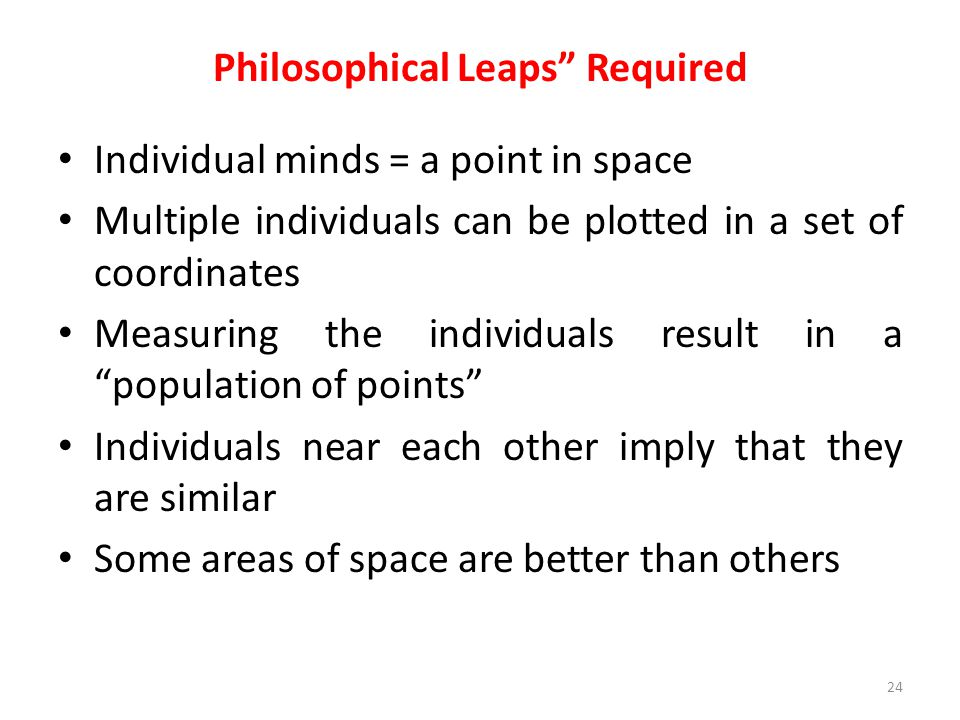 Philosophical Leaps Required