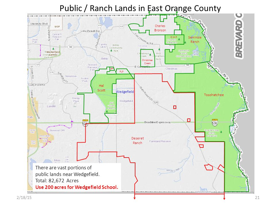 Public / Ranch Lands in East Orange County