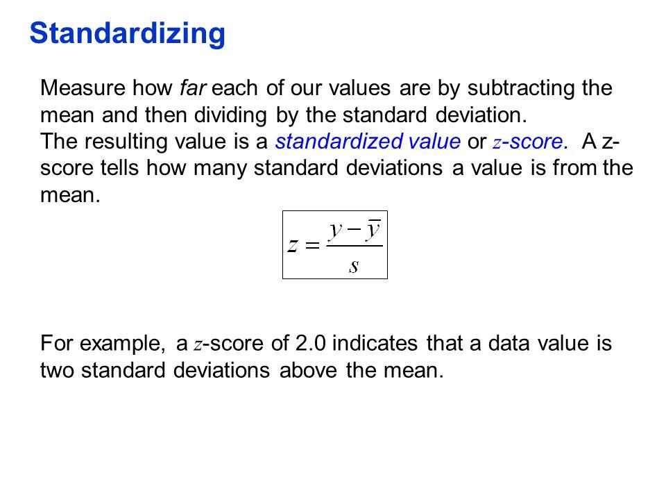 QTM1310/ Sharpe Standardizing.