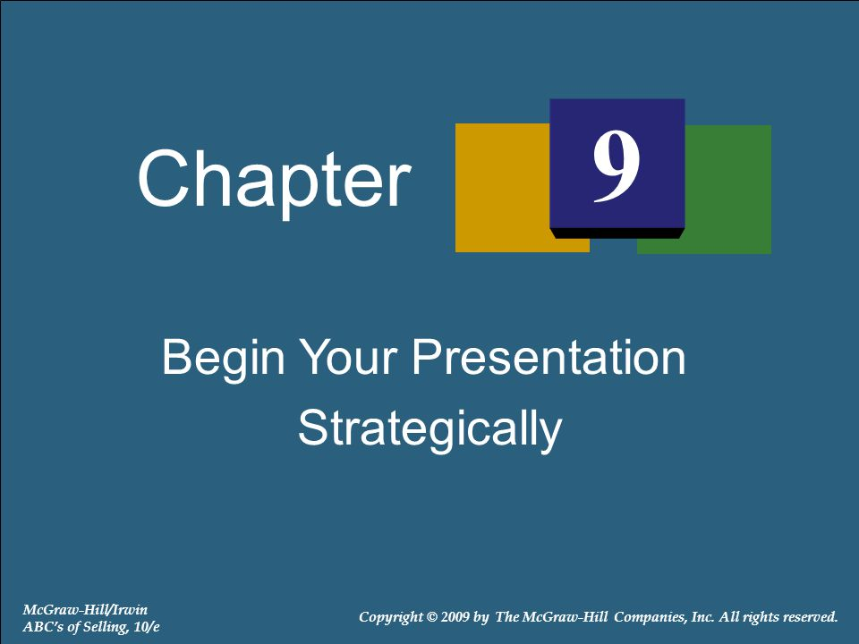 Begin Your Presentation